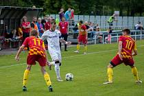 Pokračovala fotbalová divize. Dětmarovice uhrály proti Frýdlantu bod.