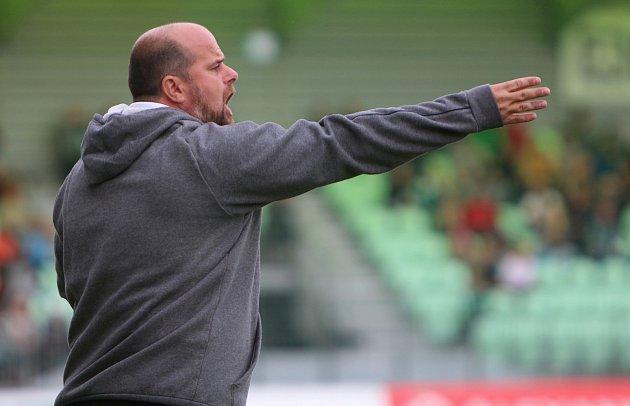 Karvinský trenér Roman Nádvorník.