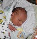 Vojtíšek se narodil 12. listopadu paní Zuzaně Moravcové z Českého Těšína. Porodní váha miminka byla 2430 g a míra 46 cm.