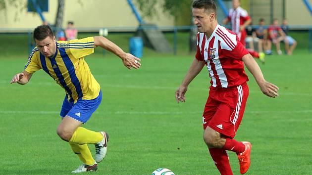 Orlovské fotbalisty čekal v Kobeřicích zářez.
