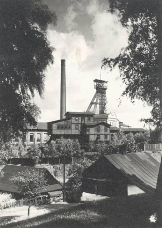 Karviná, Důl ČSA, jáma Františka 1929.