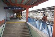 Karvinské vlakové nádraží před rekonstrukcí.
