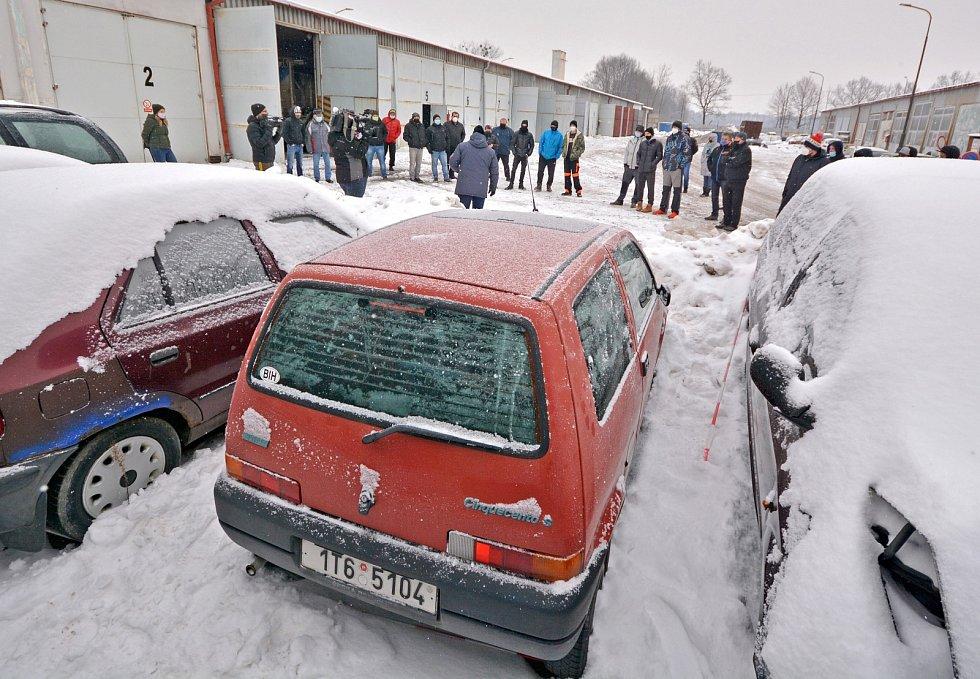 Bohumín vydražil odtažená auta.