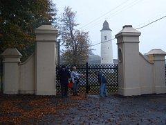 Zámecká brána chotěbuzského zámku.