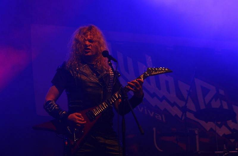 Z Hornických slavností v Karviné, zahrál revival legendárních Judas Priest.