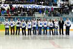 Zápas hokejových legend v Havířově.