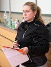 Hana Pryščová při tréninku.