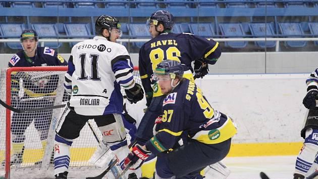 Havířov (v bílém) otočil duel s Ústím a vzdaluje se devátému místu.