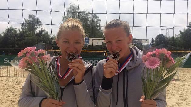 Šarlota Svobodová a Karin Žolnerčíková dosáhly na prozatímní největší úspěch kariéry.