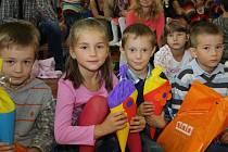Slavnostní zahájení školního roku v havířovské ZŠ F. Hrubína.