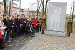 U pomníku T.G. Masaryka v Českém Těšíně se konalo milé setkání a vzpomínání na význam vzniku samostatného Československa.