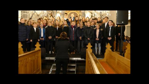 Vánoční koncert havířovského Gymnázia Komenského