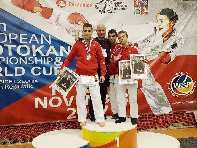 Havířovští karatisté uspěli také na mistrovství Evropy.