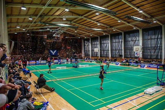 Špičkový juniorský badminton viděli diváci vOrlové.