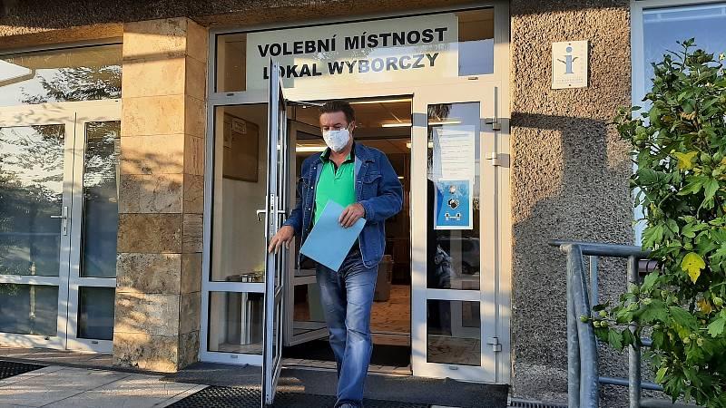 Chotěbuz, volby do PS Parlamentu ČR, pátek 8. října 2021.