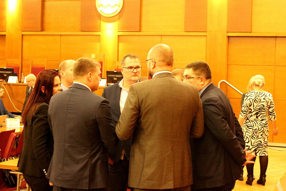 Zasedání havířovských zastupitelů.