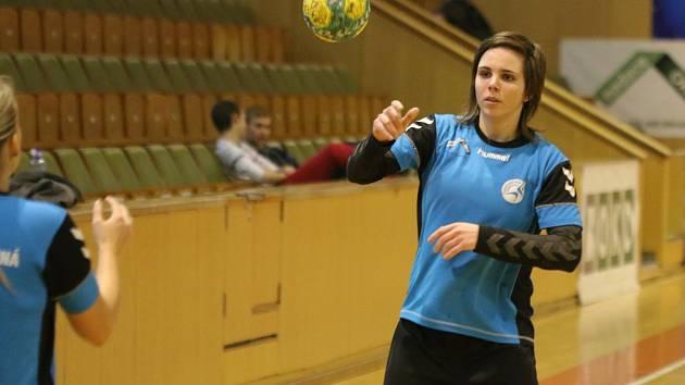 Sokolky (na snímku Adriana Baronová) prohrály doma s Pardubicemi.
