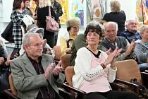 Výstava tří autorů ve výstavní síni Viléma Wünscheho Kulturního domu Leoše Janáčka vHavířově