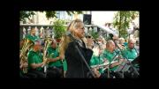 První z osmi prázdninových promenádních koncertů pod širým nebem v parku za Kulturním domem Radost v Havířově.