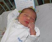 Damiánek se narodil 22. dubna paní Kristýně Kratochvílové z Karviné. Porodní váha miminka byla 2860 g a míra 47 cm.