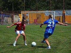 Turnaj fotbalistek v Havířově.