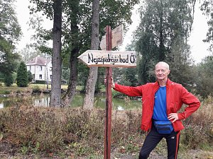 Běh Petra Kuchaře okolo Československa