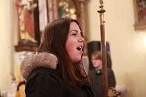 Snímky z adventního koncertu v doubravském kostele.