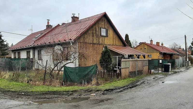 Doubrava, kolonie finských domků