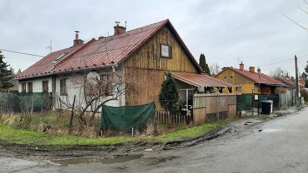 Doubrava. kolonir finských domků
