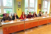 Setkání gymnazistů s vysokoškoláky zdravotnických oborů v Havířově.
