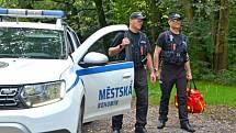 Městská policie Bohumín.