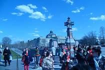 Permoník v USA: Den ve Washingtonu