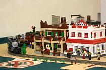 Výstava modelů ze stavebnice Lego Svět z kostiček v Havířově.