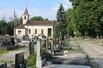 Orlová-Město. Zimný důl, hřbitov.