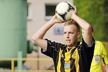 Ondřej Byrtus dal ve Vítkovicích krásný gól a českotěšínští fotbalisté vyhráli.