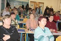S velkým zájmem sledovaly účastnice sobotního krajského setkání ČSŽ v Havířově příspěvky žen z hnutí Nesehnutí a také snímek o sexismu v reklamě.