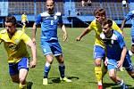 Havířov (v modrém) odehrál proti Šumperku velmi špatný zápas.
