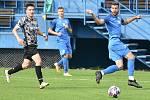 Havířovští fotbalisté (v modrém) si poradili s Polankou 4:2.