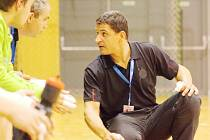 Trenér Baníku Daniel Michajlík.