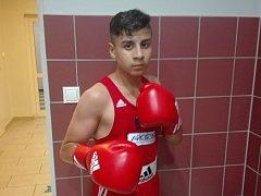 Talentovaný boxer Havířova David Horvath.