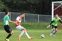 Orlovští fotbalisté promrhali ve Žďáru bodovou šanci.