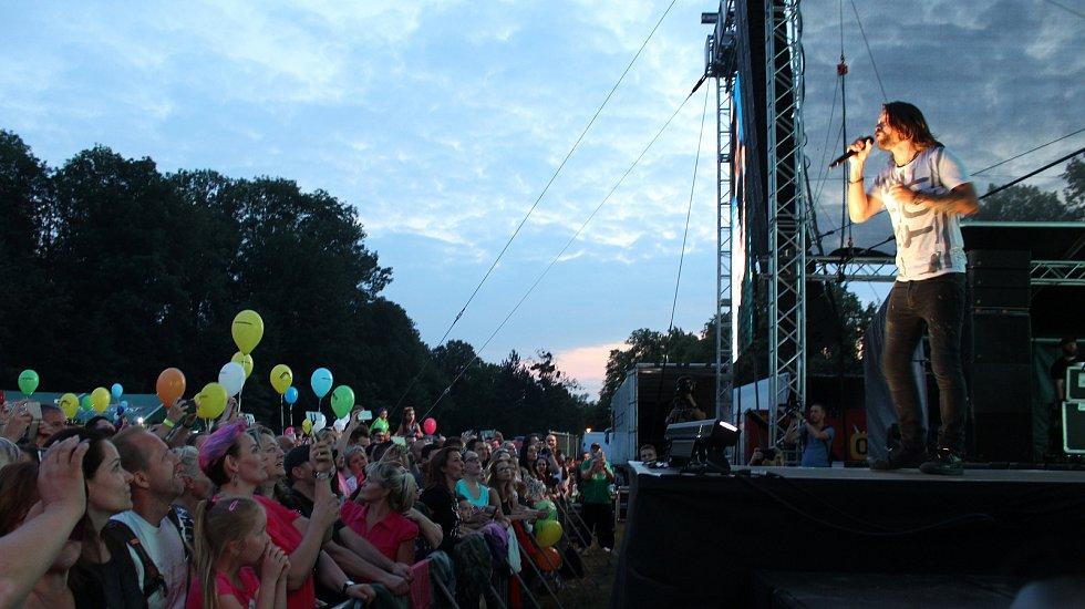 V Karviné zahrála v sobotu večer velkolepý koncert kapela Kryštof