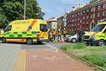 Nehoda v Havířově.