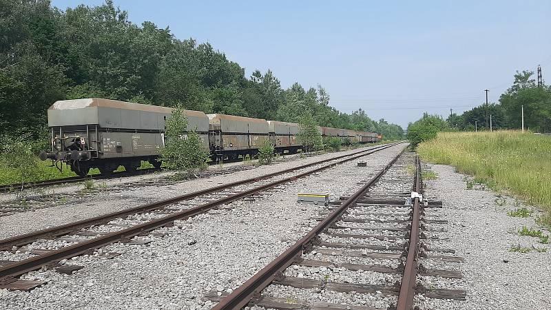 Orlová-Město. Bývalé nádraží.