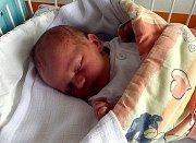 Adéla Garguláková z Orlové, narozena 11. 8. Váha 3820 g, míra 51 cm. Maminka Nikola Garguláková.