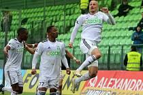 Karvinští fotbalisté zdolali Teplice jasně 3:0.