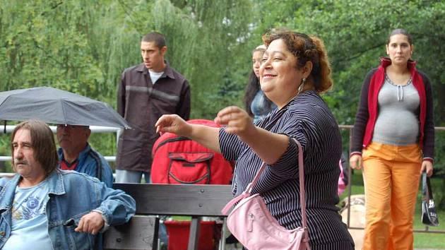 Romský festival, to je pokaždé plno zábavy, zpěvu, hudby a tance.  Do Karviné se sjíždějí lidé z celé republiky.