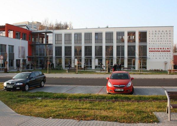 Regionální knihovna Karviná.