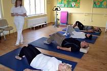 Rehabilitační cvičení.