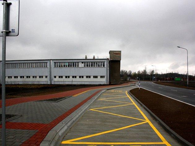 Průmyslová zóna Dukla v Havířově.